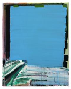 "Castaway. 2013, acrylic on canvas.  30"" x 24""."