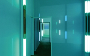 "Robert Irwin, ""Excursus: Homage to the Square(3).""   1998.  Installation, dimensions variable."