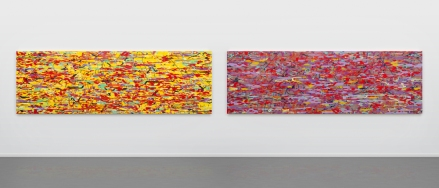 L: Variation: yellow (dusk), 2016 R: Variation: purple (dawn), 2016