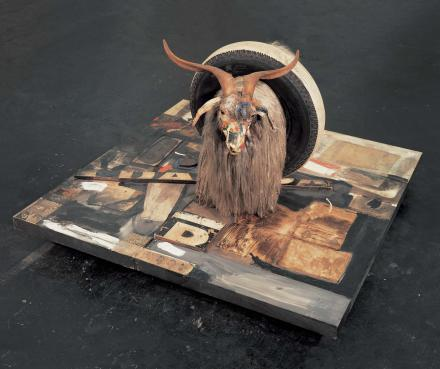 Robert Rauschenberg Monogram, 1955-1959 Mixed media 42 x 63 x 65 inches